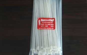 Dây rút nhựa giá rẻ 4x200 (20cm)