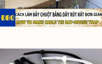 bẫy chuột bằng dây rút nhựa tnp