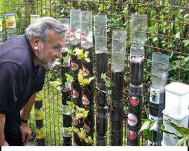 chai nhựa tái chế