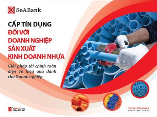Seabank ưu đãi cho doanh nghiệp nhựa